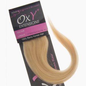 Clip in Vlasy 38cm 70g Nejsvetlejší Blond 613-0