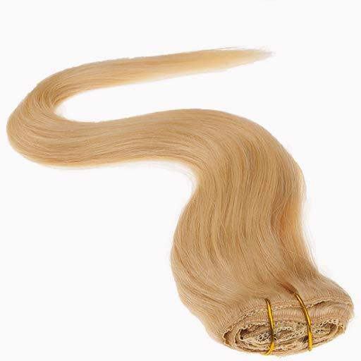 Clip in Vlasy 38cm 70g Nejsvetlejší Blond 613-1550