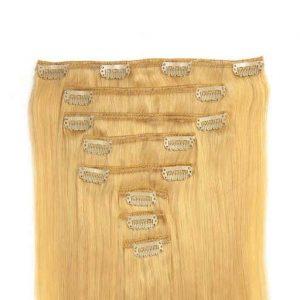 Clip in Vlasy 60cm 160g Nejsvetlejší Blond 613-0