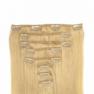 Clip in Vlasy 60cm 160g Platinová Blond 60-0
