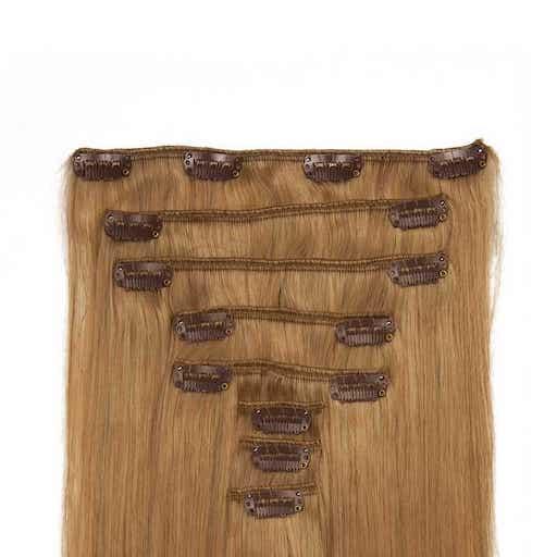 Clip in Vlasy 60cm 160g Jahodovo Blond 27-0
