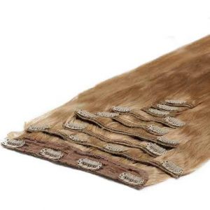 Deluxe Clip in Vlasy 50cm 200g Jahodovo Blond 27-0