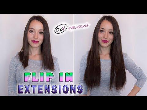 Flip in Vlasy 55cm 160g-623