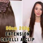 Deluxe Clip in Vlasy 50cm 200g