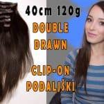 Prémiové Clip-in Vlasy 40cm 120gr