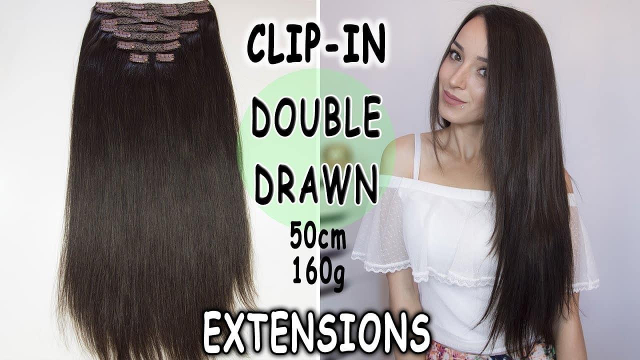Prémiové Clip-in Vlasy 50cm 160gr