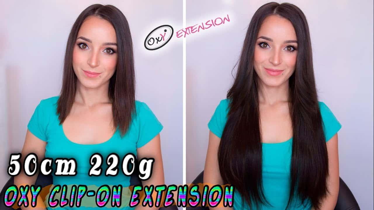 Prémiové Clip-in Vlasy 50cm 220gr