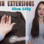 Prémiové Flip-in Vlasy 40cm 140gr
