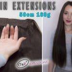 Prémiové Flip-in Vlasy 55cm 160gr #2